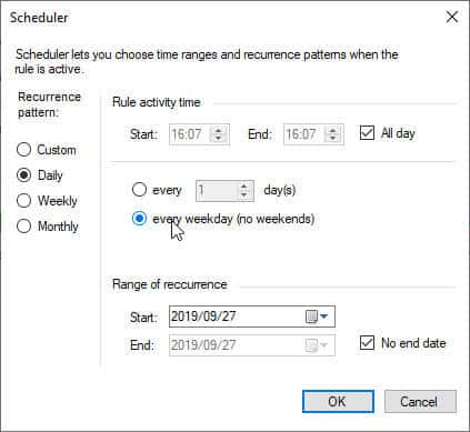 CodeTwo Advanced Scheduling