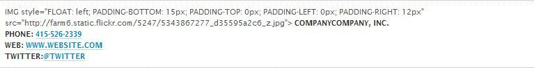 CodeTwo Editing HTML can go wrong