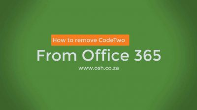 CodeTwo Email Signatures: How to remove from Office 365 with Video and Screenshots (Step by Step)