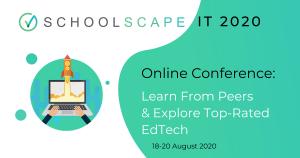 Schoolscape IT 2020 Online – Top Edtech Solutions